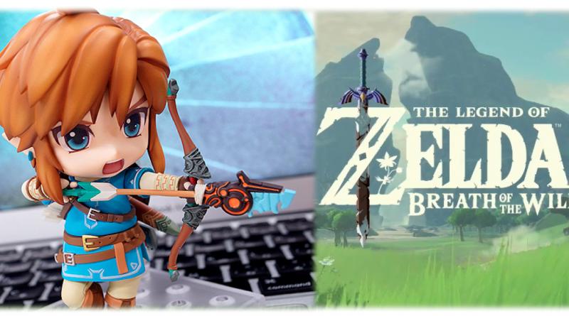 Une superbe figurine Nendoroid pour Link – Zelda Breath of the Wild