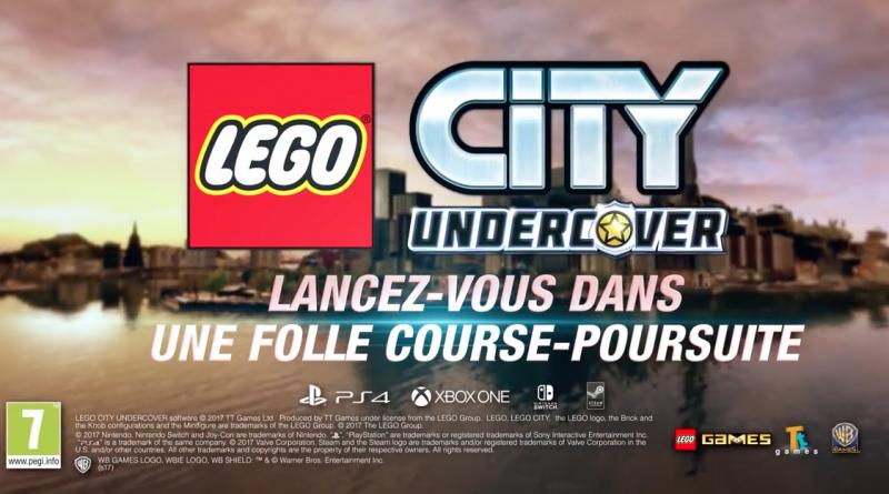 véhicules de LEGO City Undercover