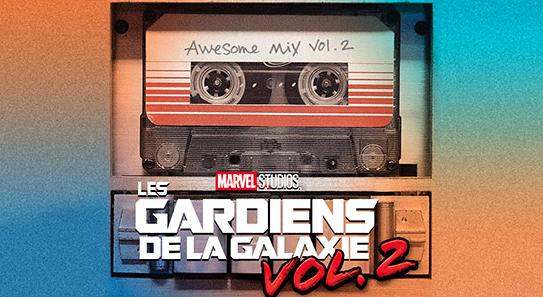 Musique Les gardiens de la Galaxie Vol. 2