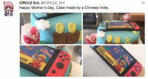 Gateau Nintendo Switch