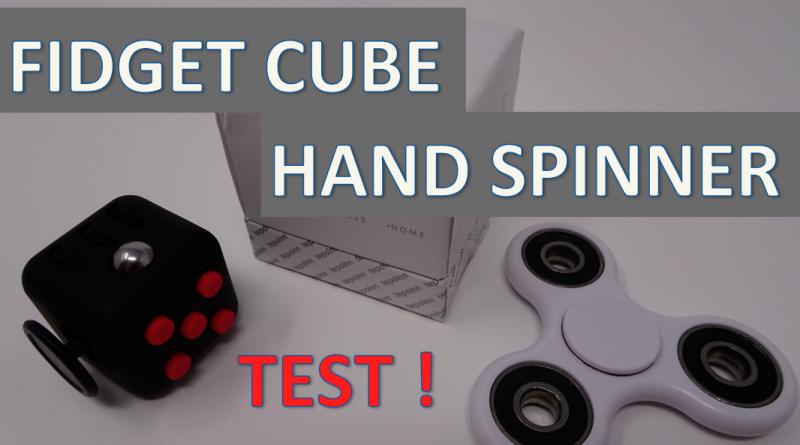 Hand Spinner ou Fidget Cube