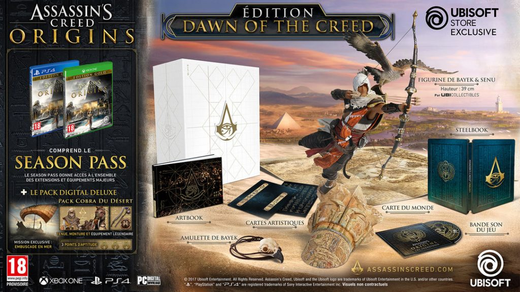 Assassins creed origins collector