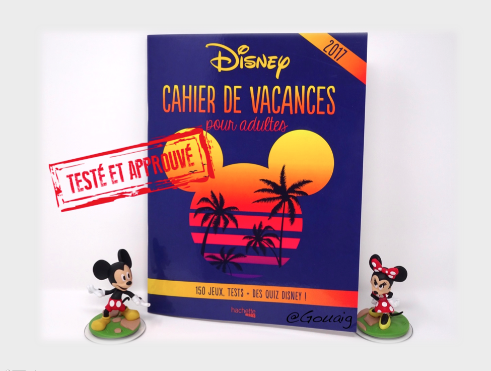un cahier de vacances disney oui mais pour adultes. Black Bedroom Furniture Sets. Home Design Ideas