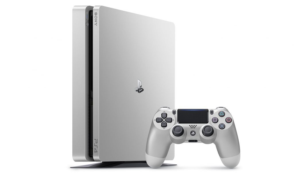 PS4 Silver