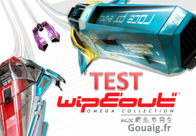 [Test] WipEout Omega Collection : Le retour des courses futuristes sur PS4 ?