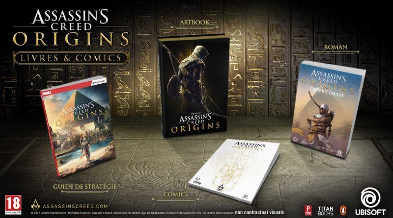 livres Assassin's Creed Origins