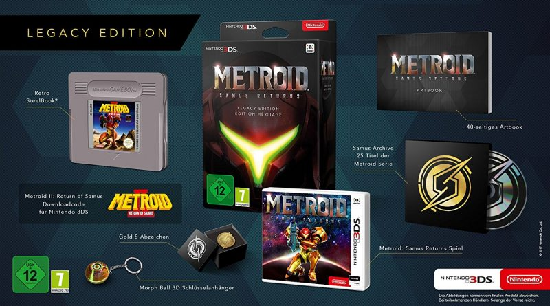 Metroid 3DS Legacy