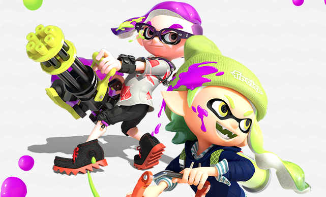 Splatoon 2 multi
