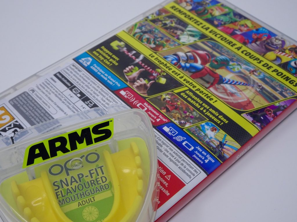 boite arriere arms switch