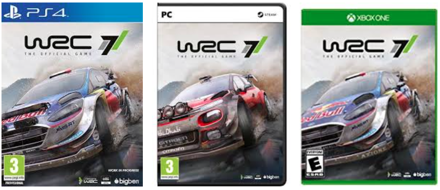 wrc 7 ps4 xbox one pc. Black Bedroom Furniture Sets. Home Design Ideas