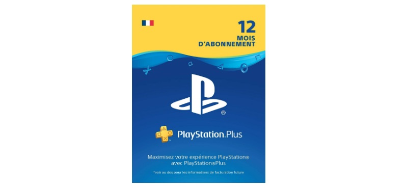 1 an PS Plus